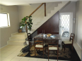 Navine's Homestay Kapstaden - Hotellet från insidan
