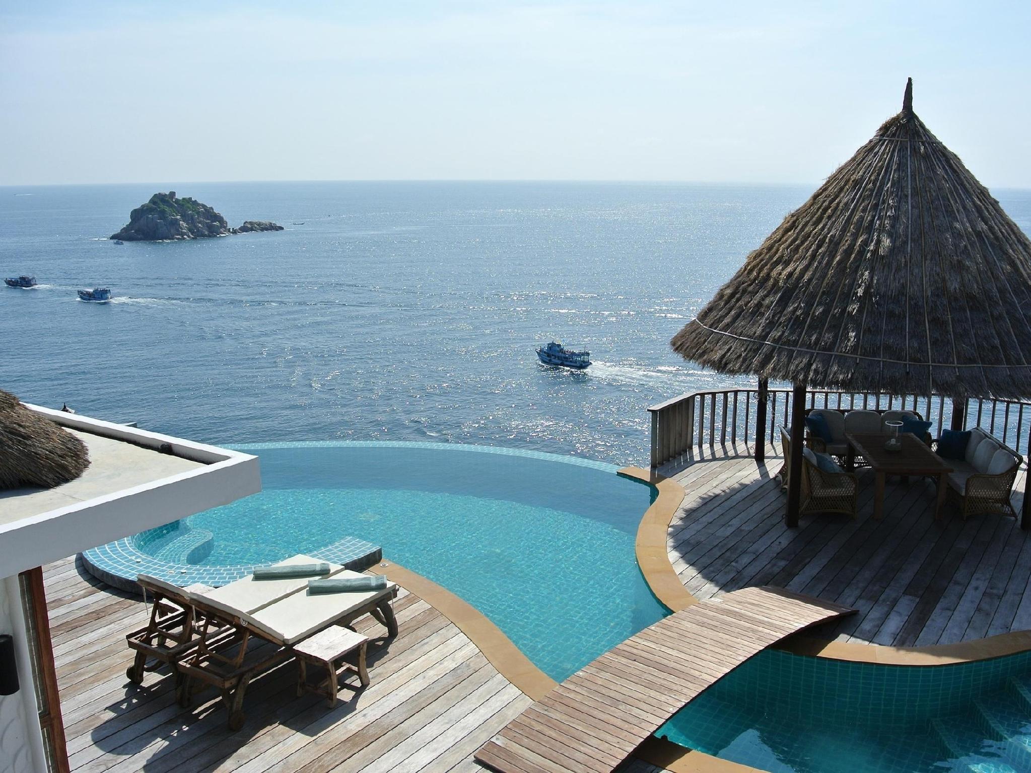 Hotell Villa Sabai Jai i Thian Og Bay / Sai Dang Beach, Koh Tao (Suratthani). Klicka för att läsa mer och skicka bokningsförfrågan