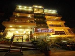 Hotel Stallions - East of Kailash New Delhi - Hotellet udefra