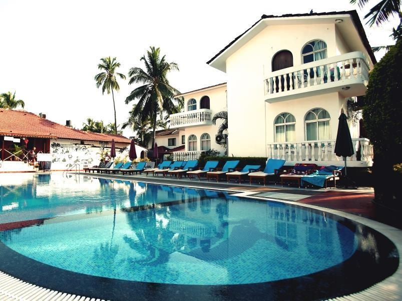 Colonia Santa Maria Hotel - Hotell och Boende i Indien i Goa