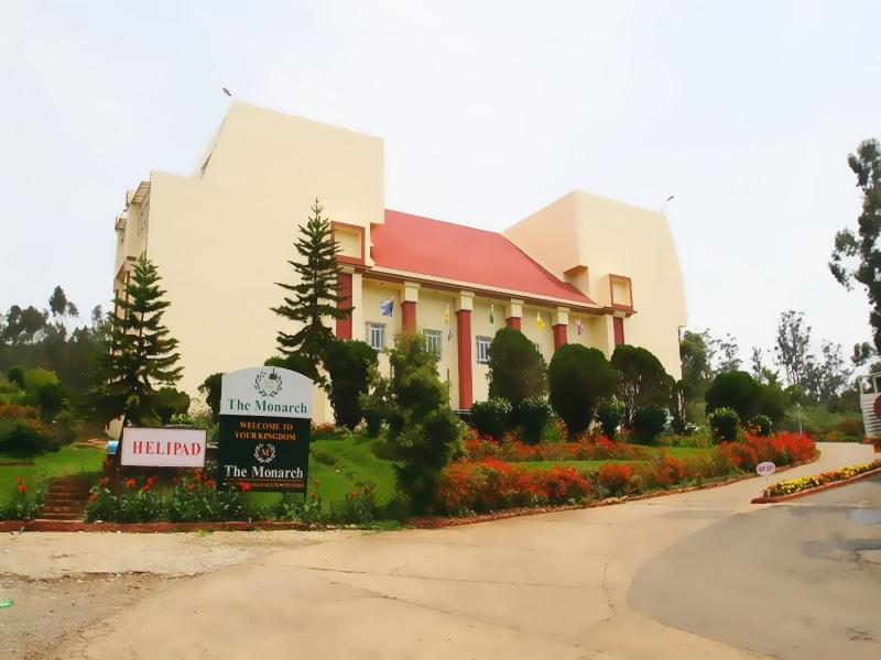 Monarch Hotel - Hotel and accommodation in India in Ooty