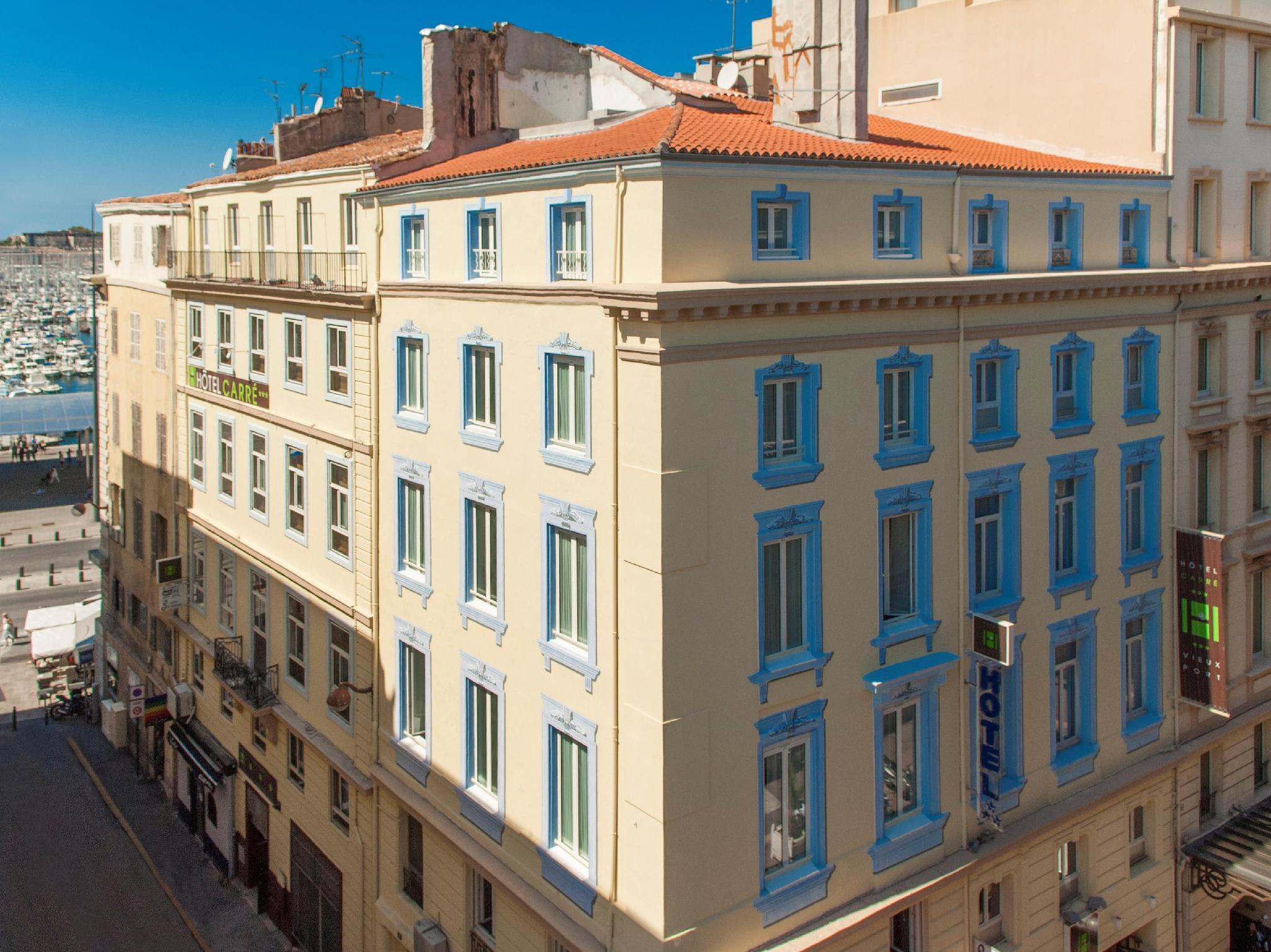 Hotel Carre Vieux Port Marseille France