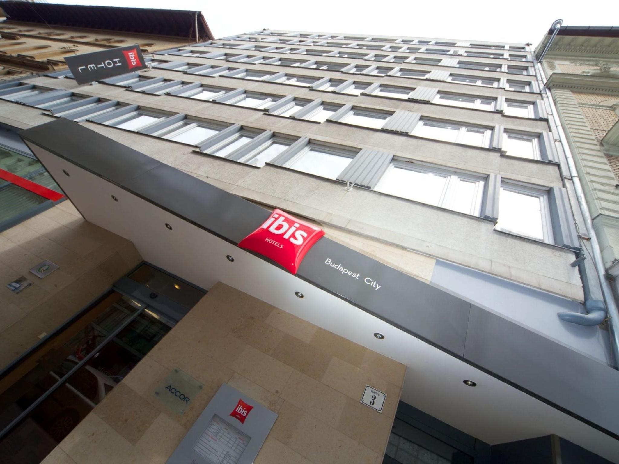 布達佩斯中心宜必思飯店