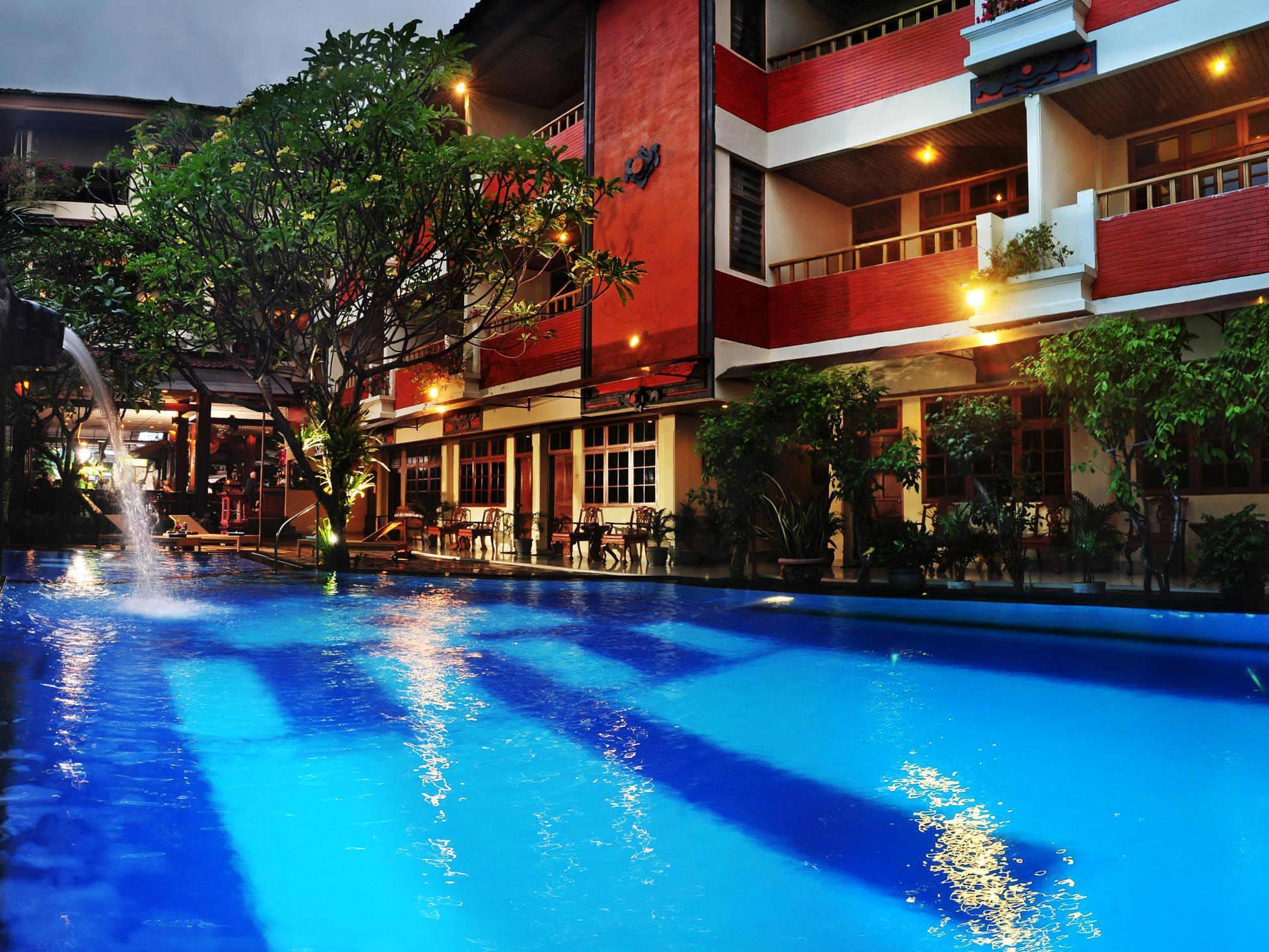 Green garden hotel kuta bali indonesia great for Green garden pool jakarta