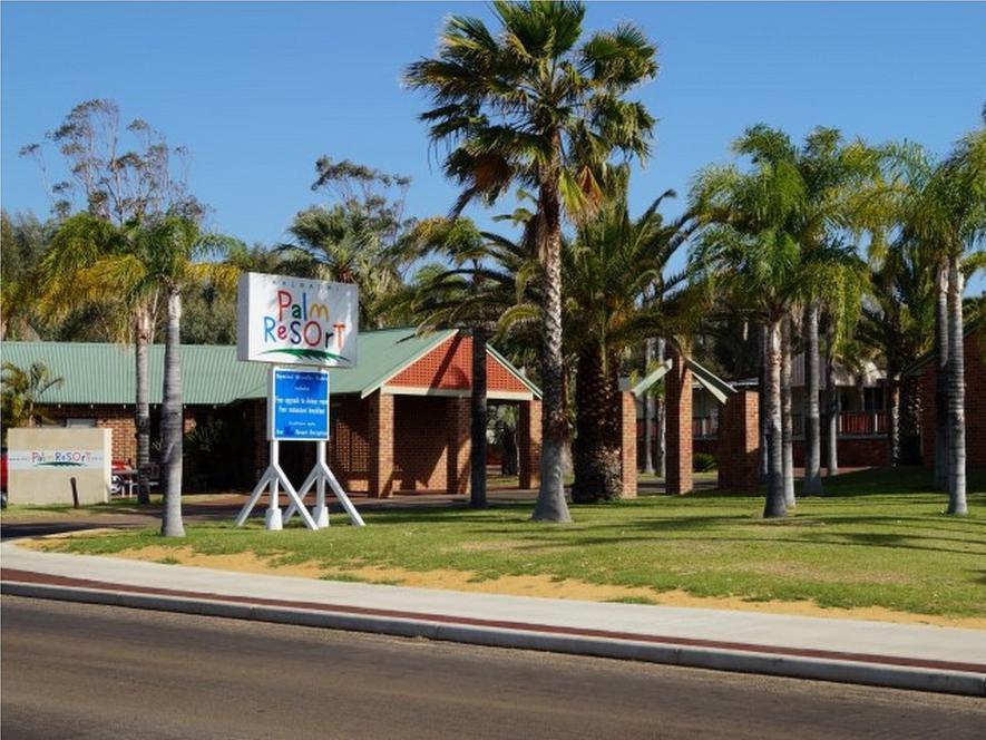 Kalbarri Palm Resort - Hotell och Boende i Australien , Kalbarri