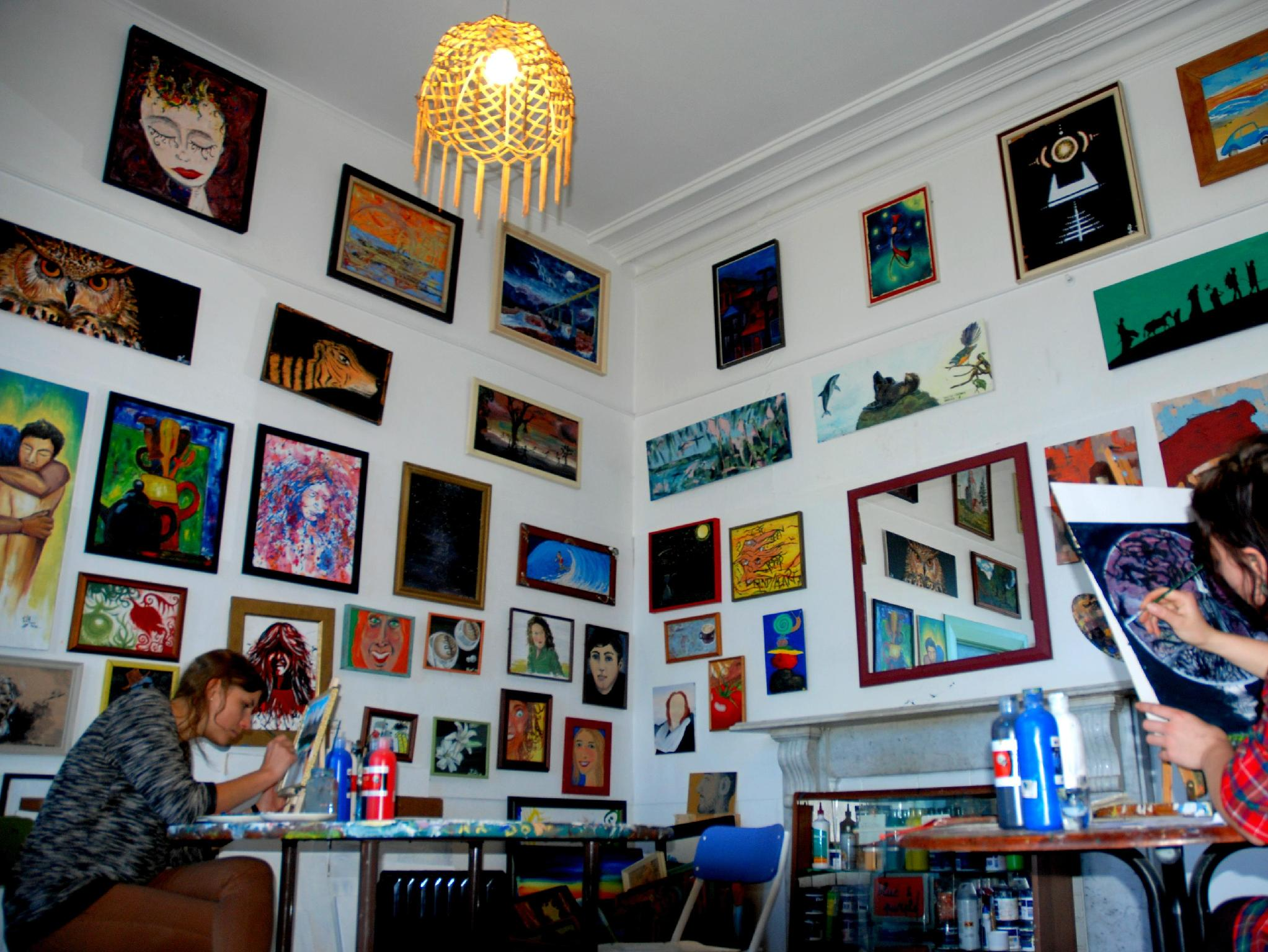 ChillaWhile Backpackers Art Gallery - Hotels and Accommodation in New Zealand, Pacific Ocean And Australia
