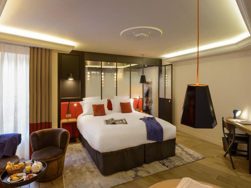 Terrass Hotel Paris - Guest Room