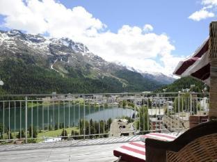 Schweizerhof Swiss Quality Hotel Saint Moritz - Balkon/Taras