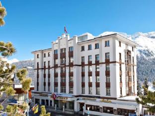Schweizerhof Swiss Quality Hotel Saint Moritz - A szálloda kívülről