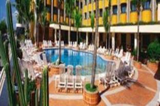 ヴィラゲールホテルの外観