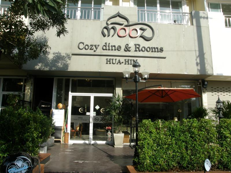 Mooz Hua Hin Cozy Dine and Rooms Hotel - Hotell och Boende i Thailand i Asien