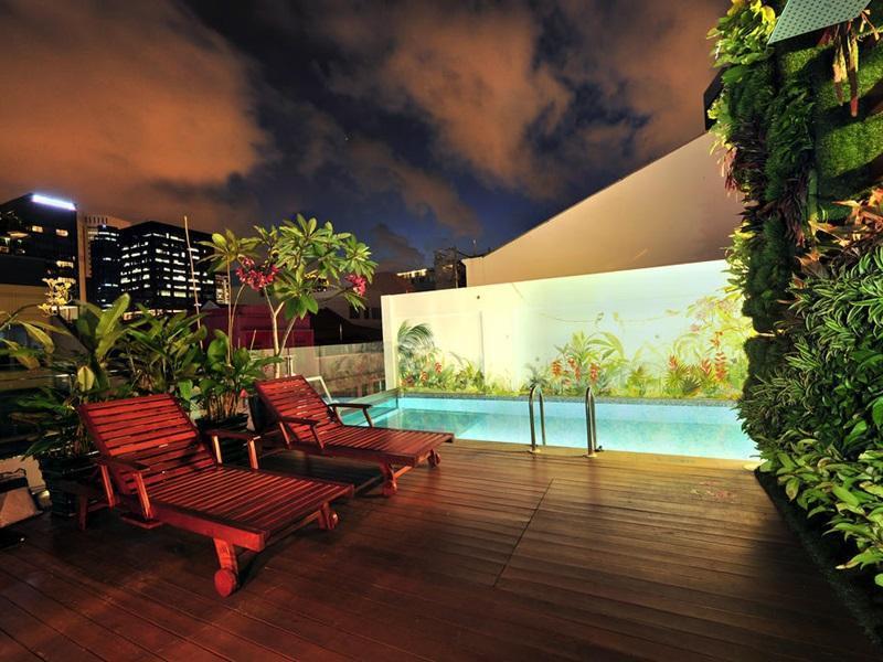 Hotel Clover 5 Hongkong Street Singapore