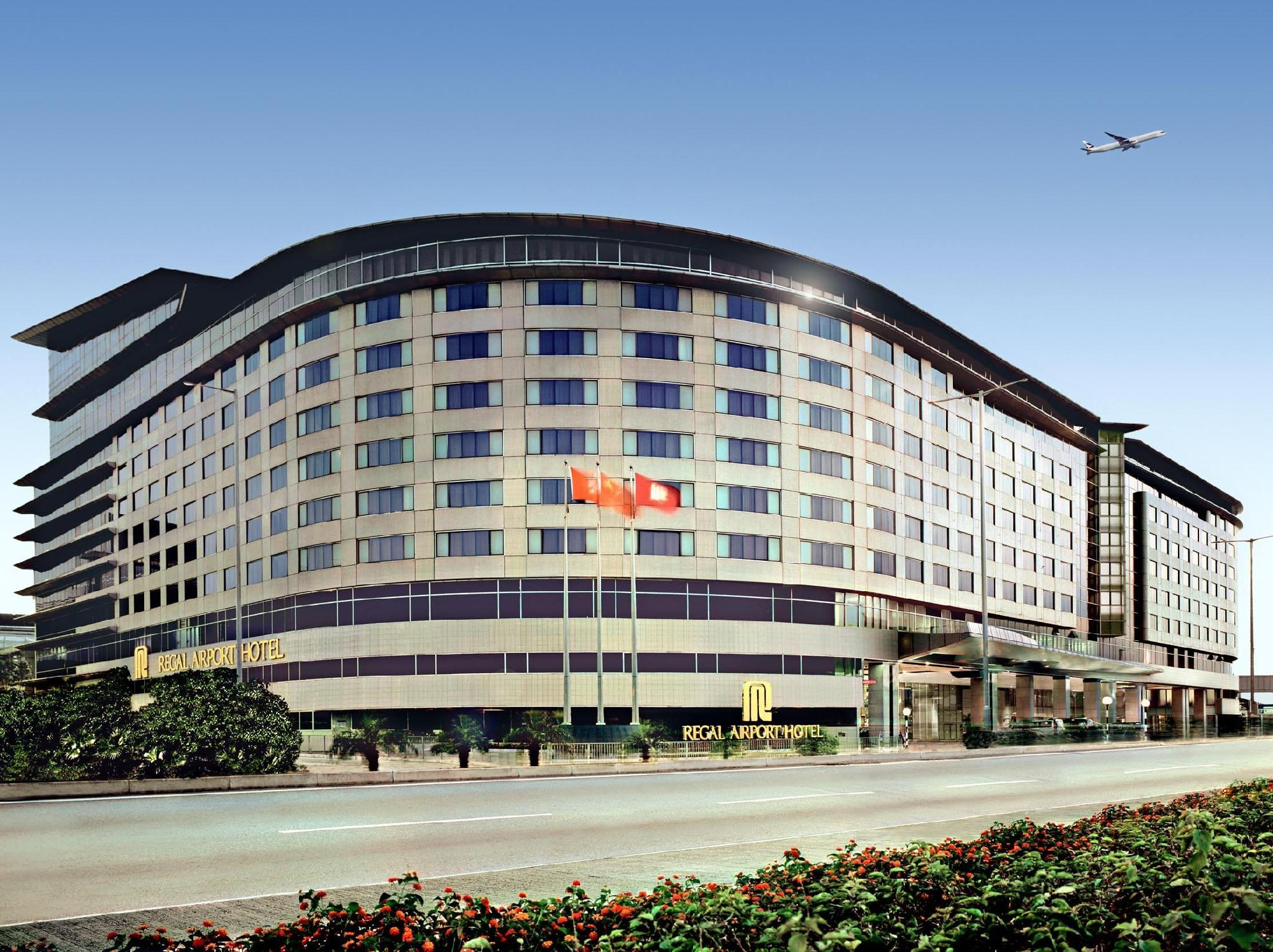 Regal Airport Hotel Hongkong - Hotellet udefra