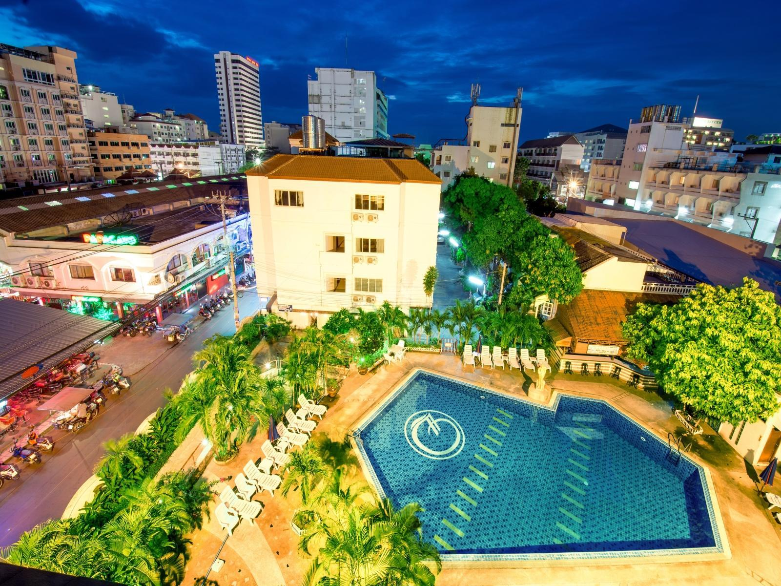 Boss Suites Pattaya - Hotels and Accommodation in Thailand, Asia
