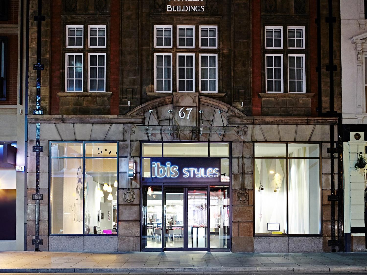 Ibis Styles Liverpool Dale St Hotel