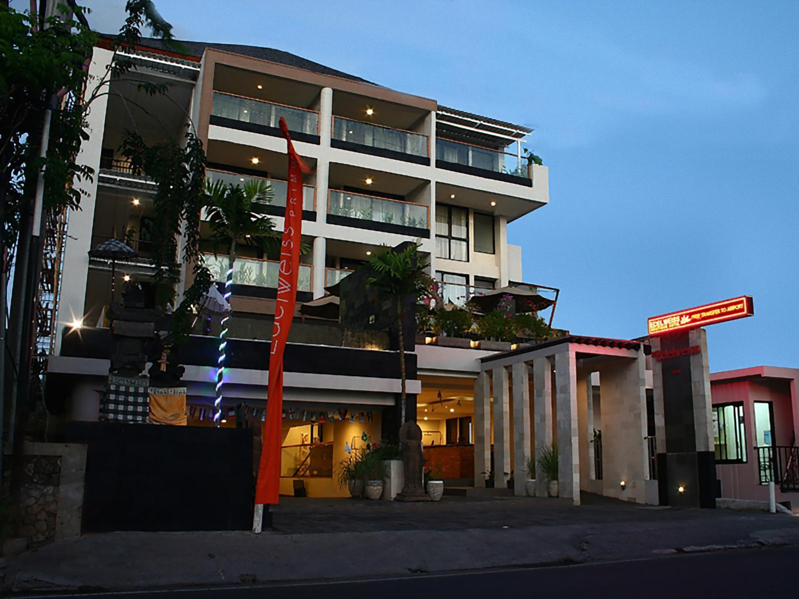 The edelweiss boutique hotel kuta kuta bali indonesia for Great boutique hotels