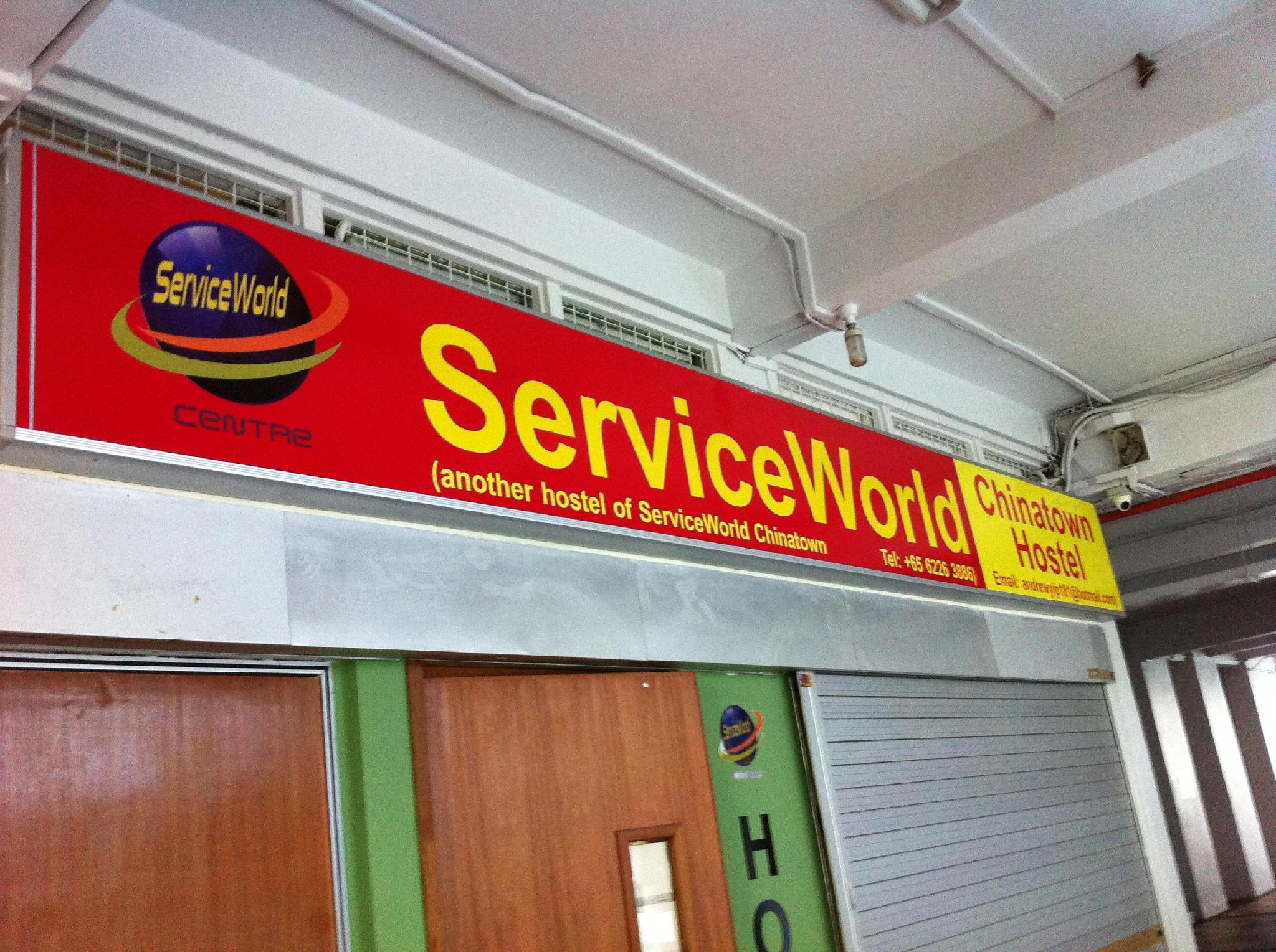 Service World Chinatown Hostel - Chin Swee