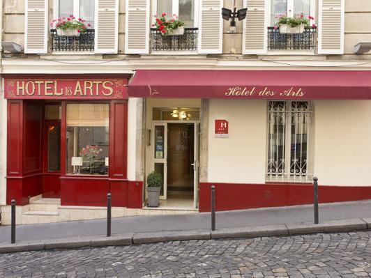 Hotel des Arts Montmartre - Hotell och Boende i Frankrike i Europa