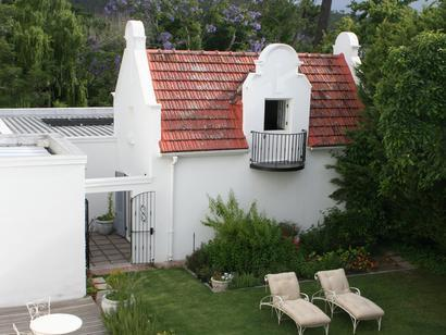 Beauclair Guest Cottage Stellenbosch - Exterior View of the Cottage