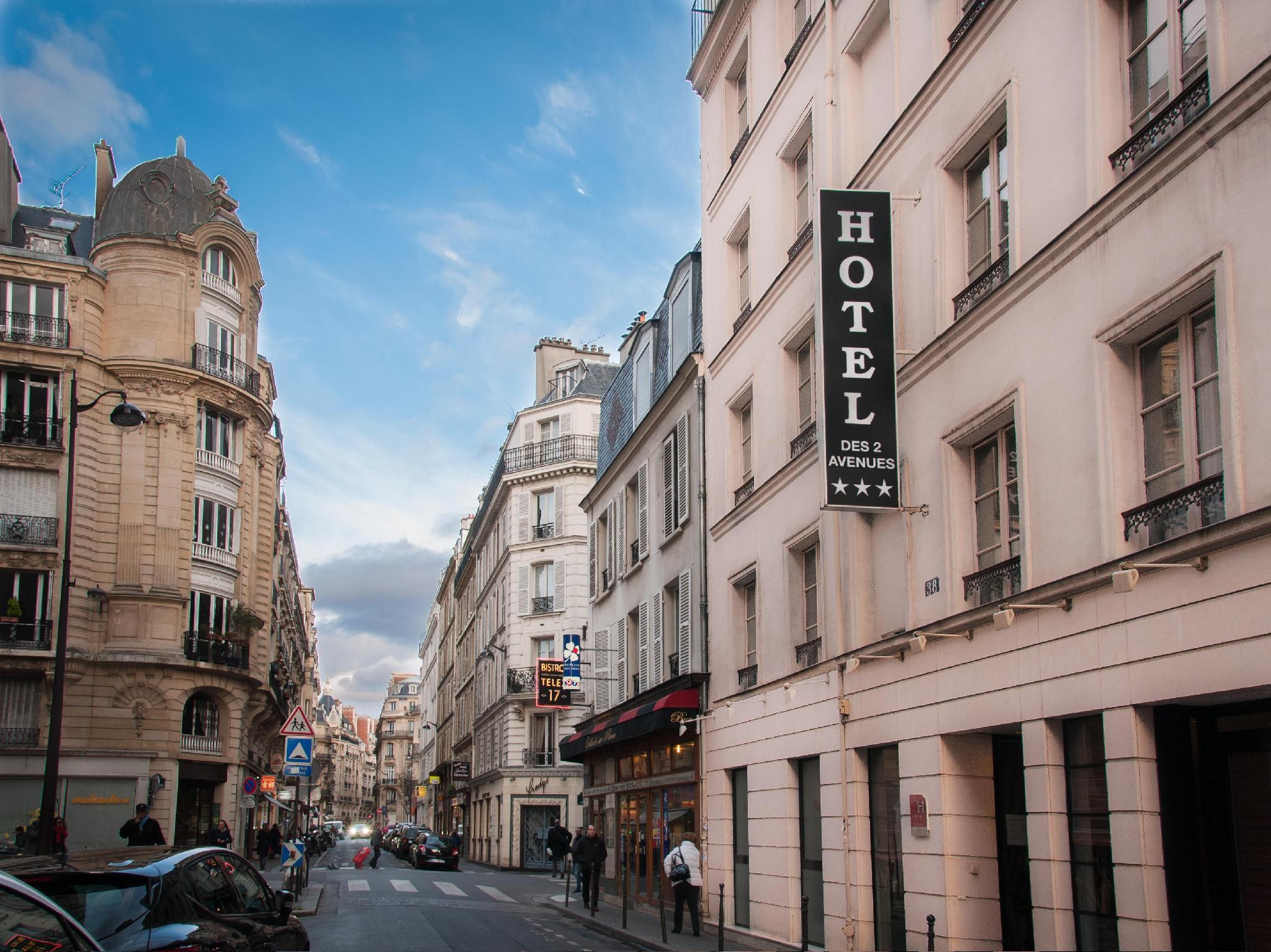 Hotel des Deux Avenues - Hotell och Boende i Frankrike i Europa