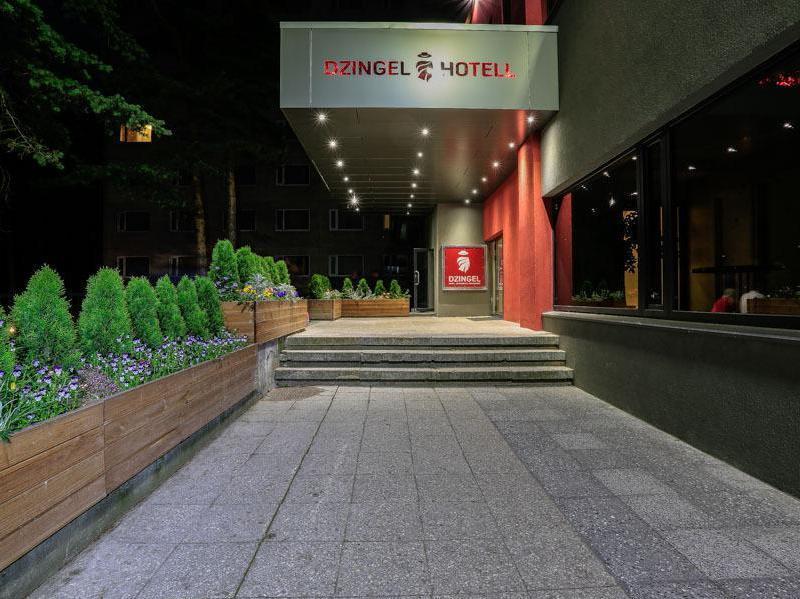 Hotel Dzingel Tallinn - Esterno dell'Hotel