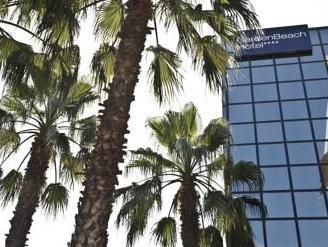 """Отель  """"Гарден Бич """" 4* (Garden Beach Hotel 4*). Франция.  Жуан ле Пен."""
