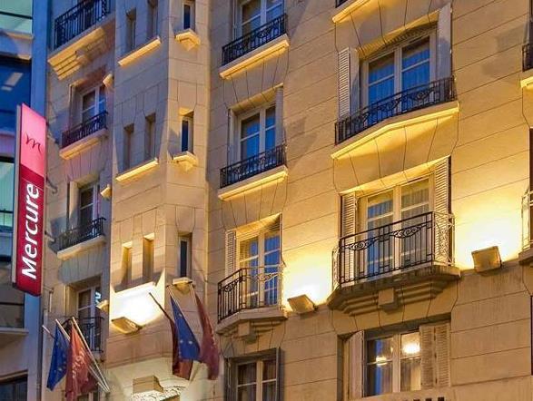 Mercure Paris Monty Opera Hotel - Hotell och Boende i Frankrike i Europa