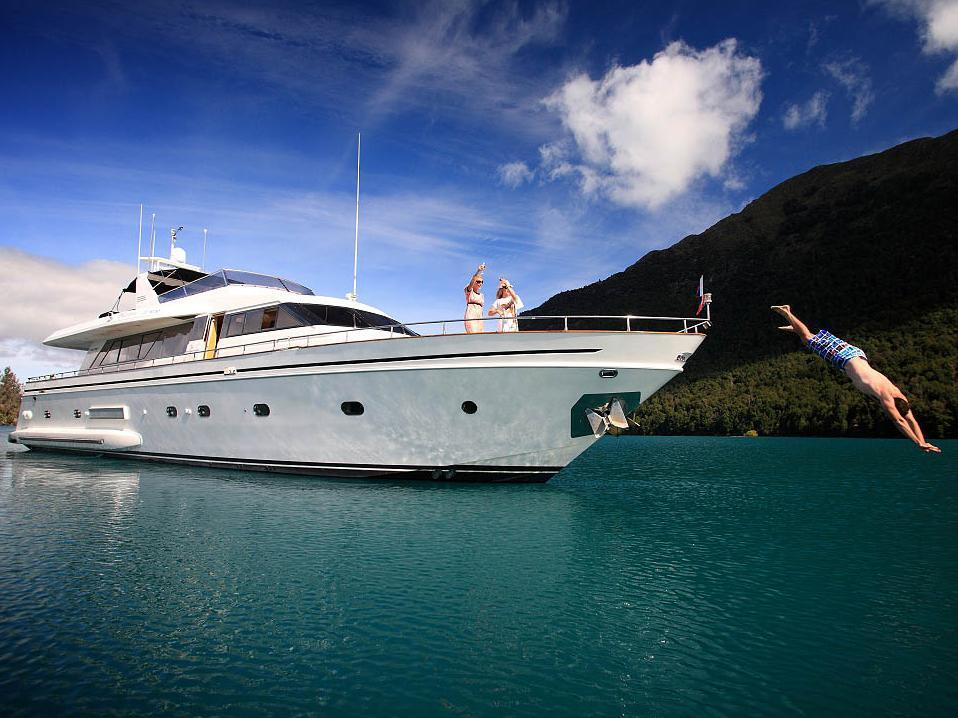 Pacific Jemm - Luxury Super Yacht - Queenstown Nz - Hotell och Boende i Nya Zeeland i Stilla havet och Australien