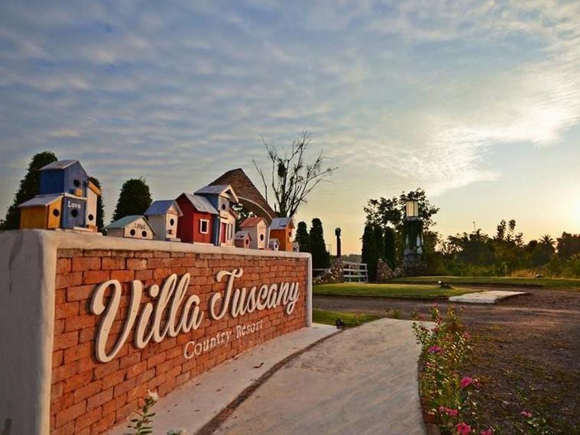 Villa Tuscany Country Resort - Hotell och Boende i Thailand i Asien