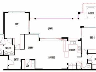 Pinnacles Resort Whitsunday Islands - Floor Plans