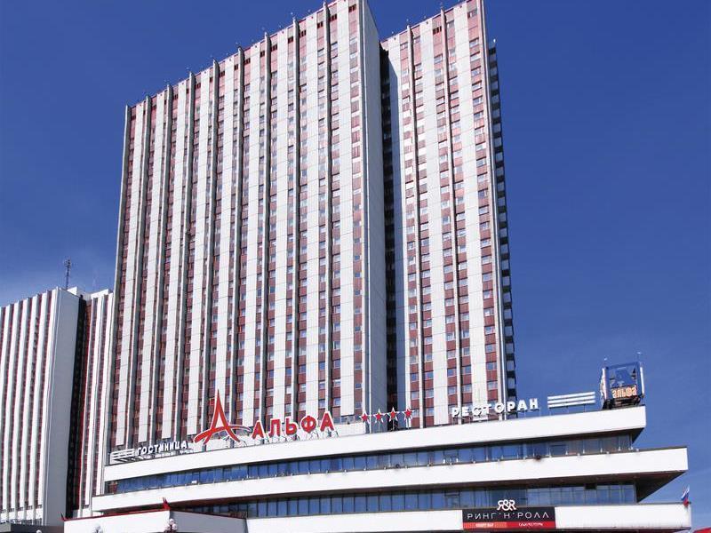 Alfa Hotel Izmailovo Complex Moszkva - A szálloda kívülről