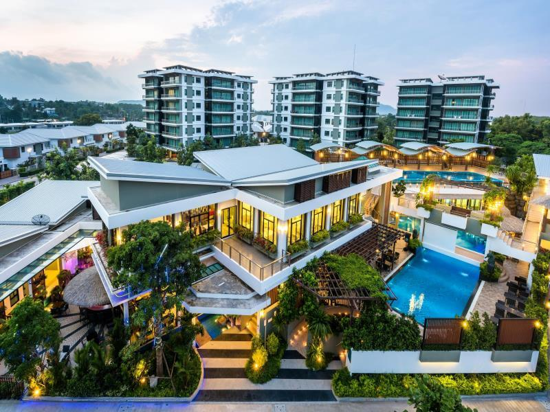 Chalong Miracle Lakeview Resort & Spa - Hotell och Boende i Thailand i Asien
