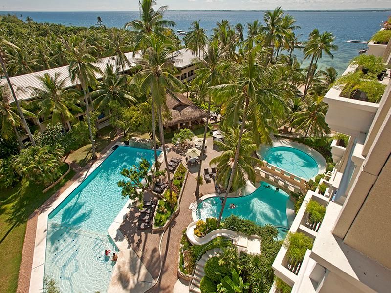 Costabella Tropical Beach Resort Cebu-Stadt - Schwimmbad