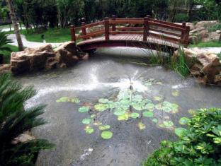 Shanghai Howard Johnson All Suites Hotel Shanghai - Monet Cafe Garden