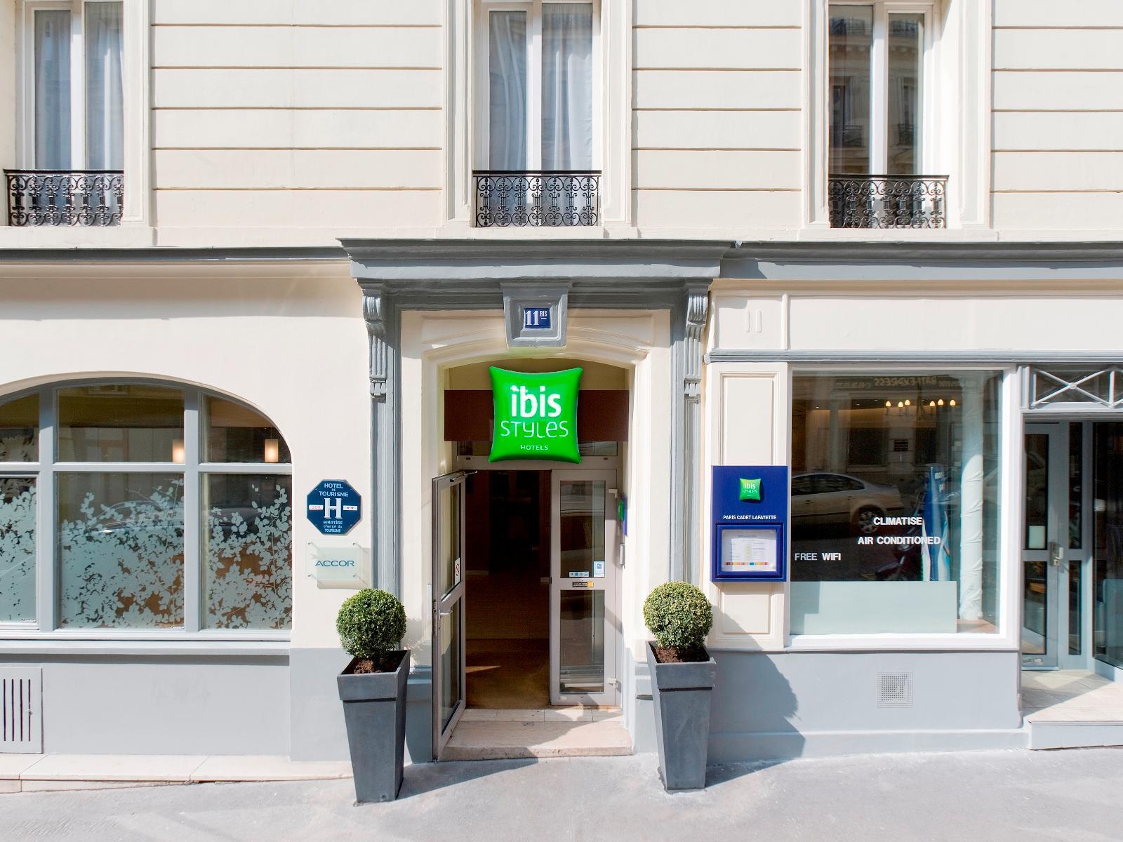 Ibis Styles Paris Cadet Lafayette - Hotell och Boende i Frankrike i Europa