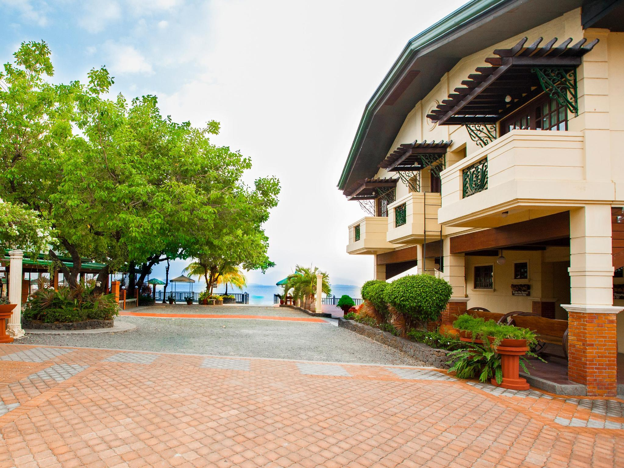 zambales beach resort with swimming pool by the sea resort hotel subic zambales philippines