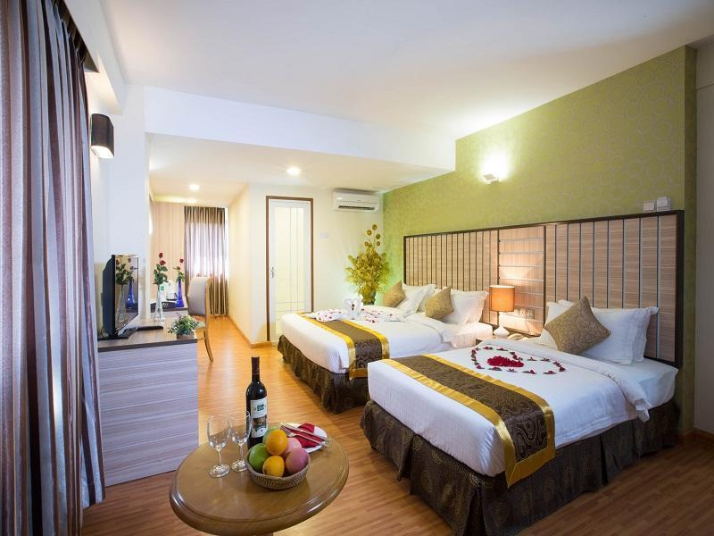 Uptown Hotel - Hotels and Accommodation in Myanmar, Asia