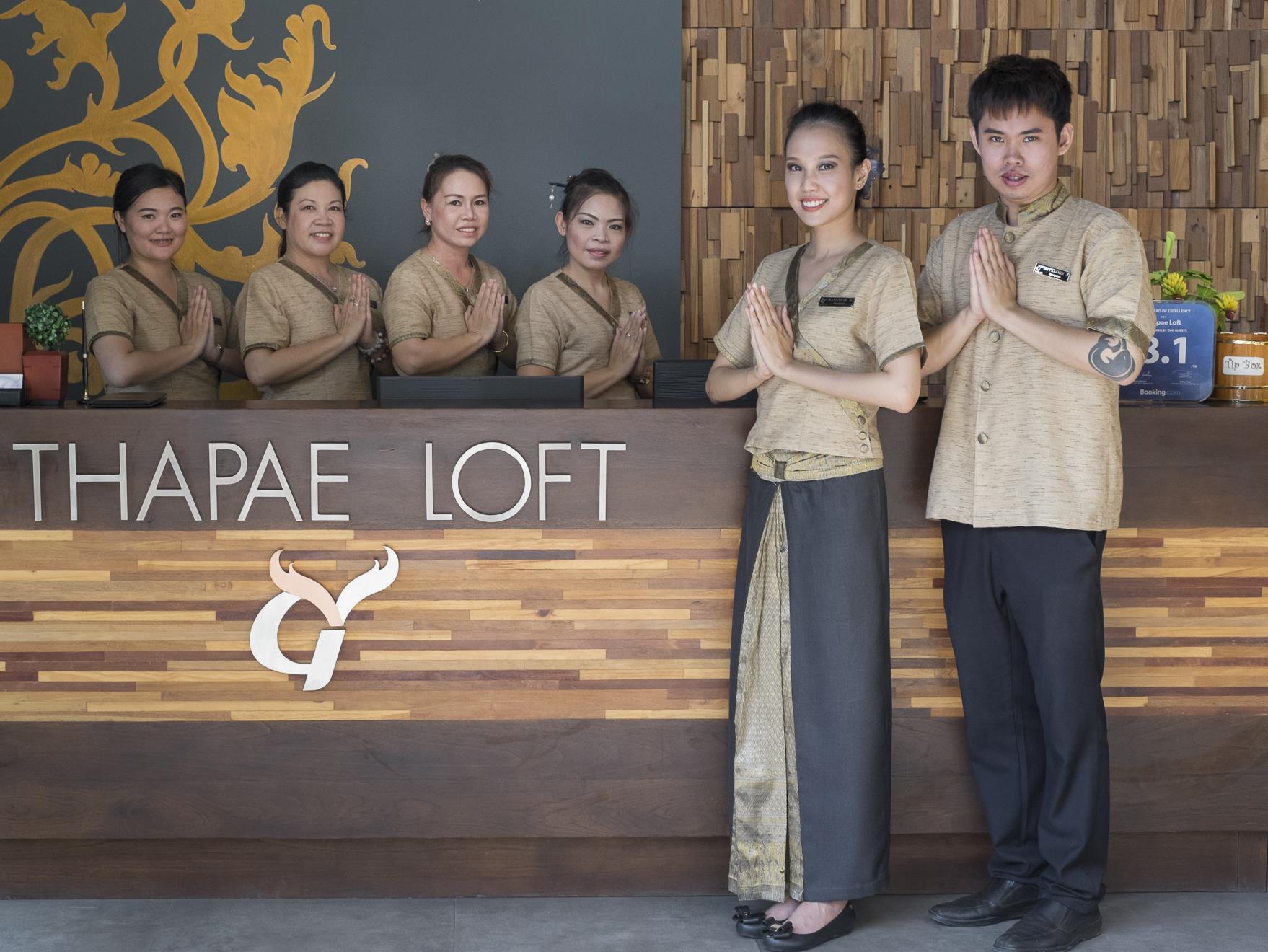 Thapae Loft Hotel - Hotell och Boende i Thailand i Asien