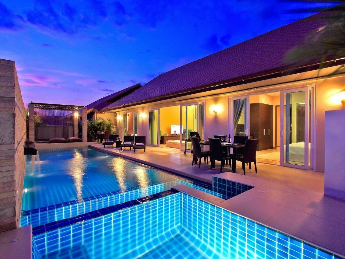 The Ville Jomtien Pool Villa - Hotels and Accommodation in Thailand, Asia