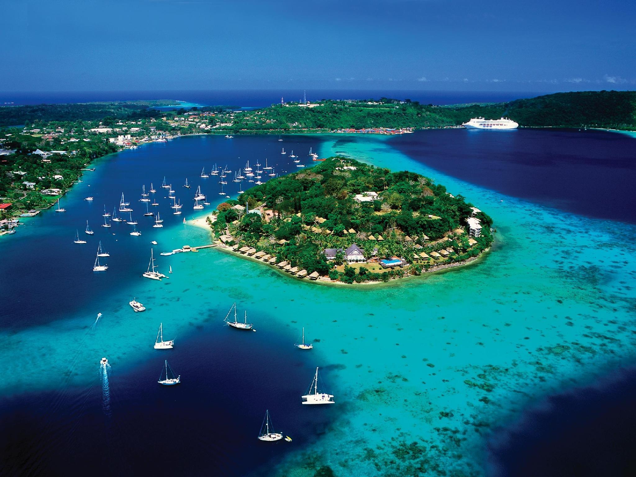 Iririki Island Resort and Spa - Hotell och Boende i Vanuatu i Stilla havet och Australien