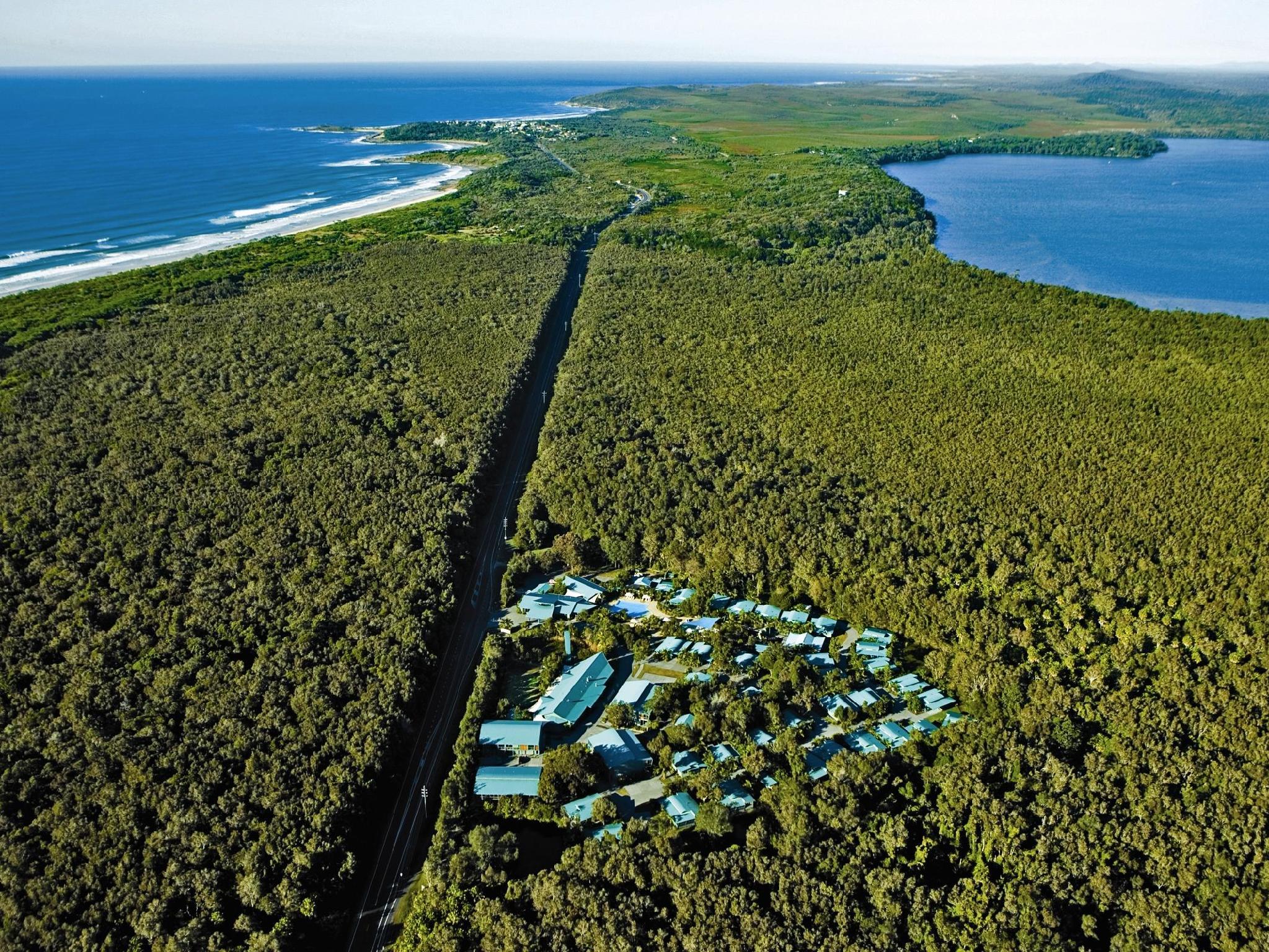 Angourie Rainforest Resort - Hotell och Boende i Australien , Yamba