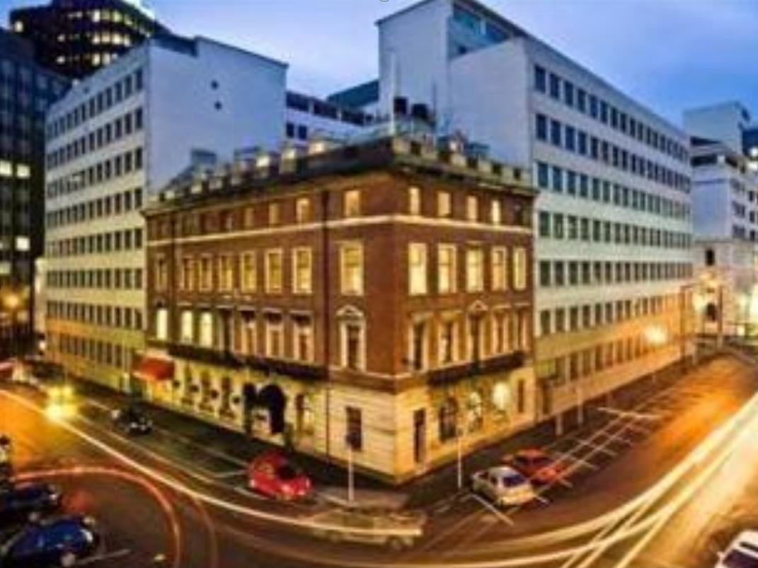 Wellesley Boutique Hotel Wellington - Exteriér hotelu