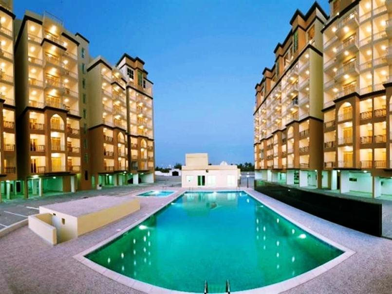 Zahrat Al Khareef Apartment - Flat 609 - Hotels and Accommodation in Oman, Middle East