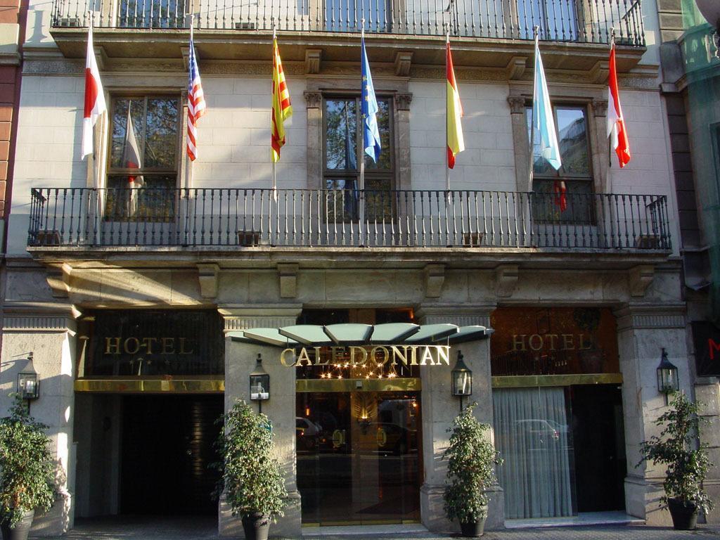 Hotel Caledonian Barcelona - A szálloda kívülről