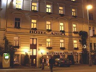 ホテル アンデルの外観