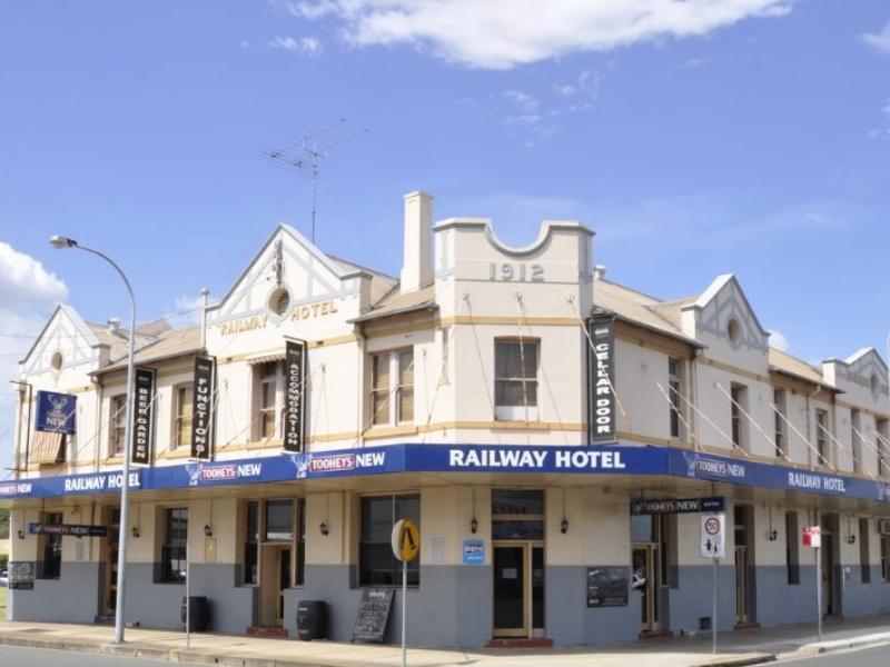 Railway Hotel Cessnock Hunter Valley Australia Great Ed Rates
