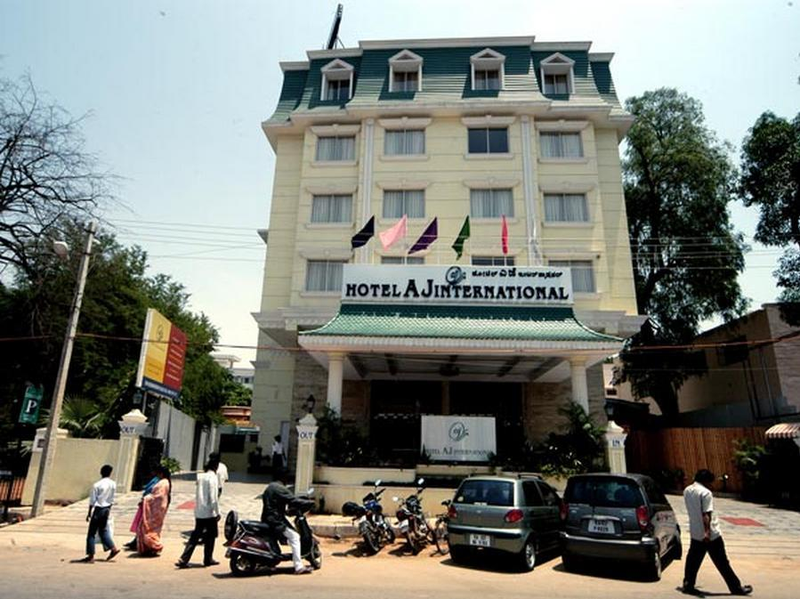 Hotel AJ International - Hotel and accommodation in India in Bengaluru / Bangalore