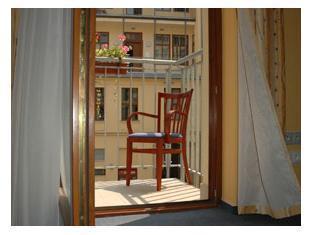Aparthotel Austria Suites Praga - Balkon/Taras