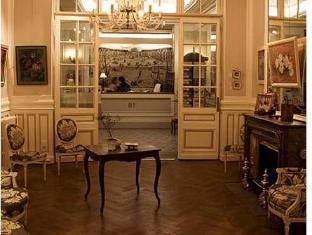 โรงแรมเบสท์ เวสเทิร์น กรองด์  ฟรองส์เซ บอร์โดซ์ - เคาน์เตอร์ต้อนรับ