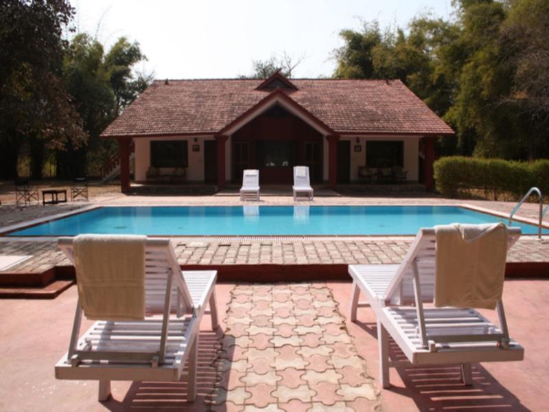 Royal Tiger Resort - Hotell och Boende i Indien i Kanha
